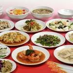 猪苗代湖畔のレストラン 中国料理 西湖 - 本場の料理人が次々繰り出すコース料理