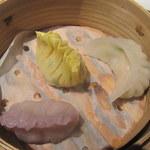 中国レストラン 蘇州 - 點心3種盛り合わせ