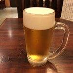 石蔵 - 2017年10月11日  生ビール(キリン一番搾り)