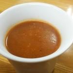 74859257 - 濃厚野菜スープは200円也
