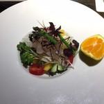 天ぷら岡本 - 季節の前菜