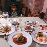 café de campagne - クリスマスディナー