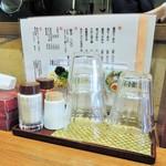 池田麺彩 - 調味料
