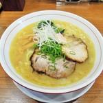 池田麺彩 - 塩ラーメン(大)