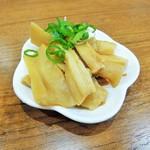 池田麺彩 - 追加のメンマ