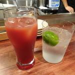 酒と肉バル sora - ◆ジントニック(680円)とカシスオレンジ(580円)。