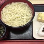 源平うどん - 料理写真:釜揚げ 大サイズ(3玉)