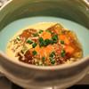 Restaurant l'equateur - 料理写真:雲丹と伊勢海老のジュレ 甲殻類の出汁とコンソメのソースで じゃがいものエスプーマ