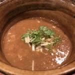 麺屋 えん寺 - ベジポタ海老つけ麺