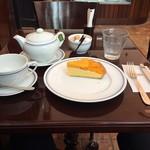 74874296 - マンゴータルト、紅茶