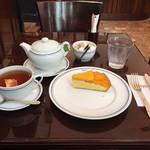 74874298 - マンゴータルト、紅茶