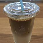 カフェ グリーン トカチ - アイスカフェラテ 430円