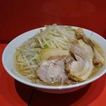 ラーメン二郎 - 料理写真:ラーメン (半分 180g)+  野菜・カラメ