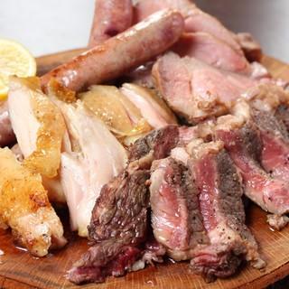 グリルミクスタで様々なお肉を堪能♪