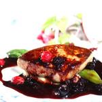 レストラン クララ - 【ハイジの王道フレンチ】カナダ・ケベック産のフォアグラを使った一皿