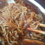 赤道食堂 - 味噌ラーメン(リフト)