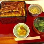 74878577 - うな重(松)一式【料理】