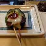 海千山千 - ピーマン肉詰め