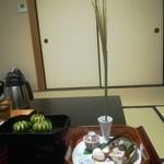 京都嵐山温泉 渡月亭 - こんな演出