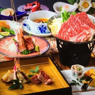 上質な空間で、日本料理の『粋』を味わう