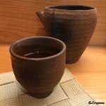 鮨 来多老 - 山の井 純米吟醸酒