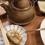 割烹古登葉 - 大好きな土瓶蒸し( ゚Д゚)ウマー