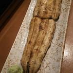 割烹古登葉 - 鰻の白焼き大サイズ( ゚Д゚)ウマー