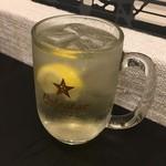 バイバッソ - ソルティレモンサワー450円