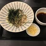 バイバッソ - 豚肉つけ蕎麦700円(+税)