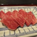 毛利志満 - ロースステーキ