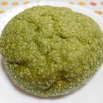 東京メロンパン - 抹茶メロンパン¥180-