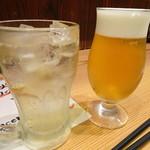 居酒屋 磯飯倶楽部 - ◆ビールとハイボールを。