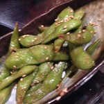 琉球 奄美ダイニング さがりばな - 枝豆ペペロンチーノ¥480(税抜)