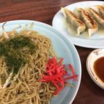 大千元 - 料理写真:さごじょう焼そば&餃子