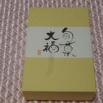 一心堂 - フルーツ大福6個入り