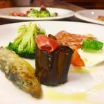 カンティーナ オット - 前菜の盛り合わせ