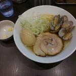 menyaryuu - □味玉塩らーめん 850円(内税)□