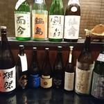 逸品料理屋 流石 - 流石の日本酒