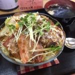 キッチンミナミ - 料理写真:ロコモコ丼