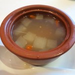 釵 - 例日湯(本日のスープ)Today's Soup