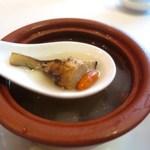 釵 - 旬の食材、松茸が。