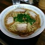 74898679 - ダブル中華そば 650円(麺2玉)