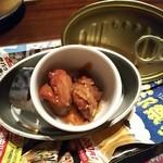 74900141 - ミニ鯖寿司と鯖の煮物