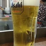 小鉄屋 - 生ビールはスーパードライ280円