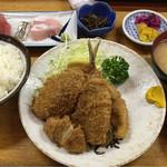 74901196 - 魚河岸定食  1100円