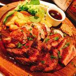 ビストロR - お肉三点盛り合わせ