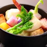 兵庫県産地野菜 白みそチーズのグラタン