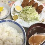 うらふね - カキフライ定食(700円)