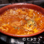 ブッチャーズ - コトコト煮込んだコラーゲンたっぷりのトマト煮込み『フィレンツェ風牛もつ煮込み』
