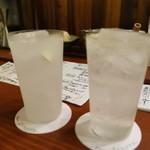 酒肆 一村 - 塩味レモンサワーと辛味レモンサワー